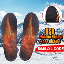 Electric Heated Shoe Insoles Sole Foot Warmer Feet Rechargeable Remote  !! !! !W