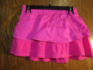 Lululemon 6 In A Flash Skirt Paris Perfection Hot Pink Laser Cut EUC! Rare!