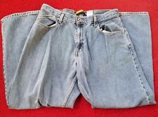Silvertab Levis Baggy Fit Blue Jeans 34 x 32 Retro Vintage 90s Distressed Rare