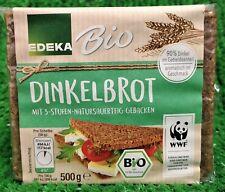 (3,58€/kg) EDEKA Bio Dinkelbrot geschnitten 500g PK aromatisch im Geschmack  !