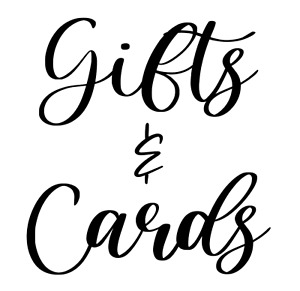 Gifts & Cards Wedding Vinyl Decal Sticker
