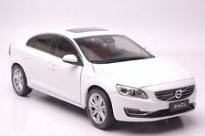Volvo S60L car model in scale 1:18 white
