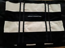 French Connection Canvas Tote