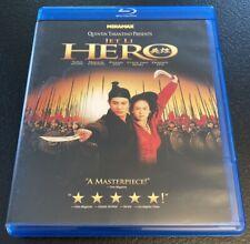 Hero (Blu-ray Disc, 2003) Jet Li Quentin Tarantino