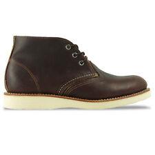 Red Wing Shoes Chukka 3141 dunkelbraun Schnürstiefel Work BOOTS EUR 44 5