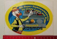 Aufkleber/Sticker: Walt Disney Productions - natürlich kosmos (01041758)