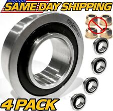 (4 Pk) Craftsman AYP 576617801 Front Wheel Bushing to Bearing Conversion UPGRADE