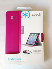 Authentic Speck SPK-A2319 StyleFolio Case for iPad Air Pink/Nickel Grey
