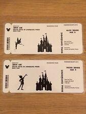 Disney revelan-vamos a Disney-personalizado de Disney tarjetas de embarque