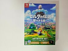 Zelda a link to the past artbook set Nintendo Switch sin juego
