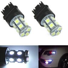 2Pcs T25 13-LED 3157 5050 SMD Super White Stop Tail Brake Turn Car Light Bulbs