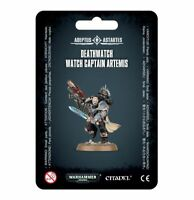 Warhammer 40K Deathwatch Watch Captain Artemis Space Marines DW Death Marine