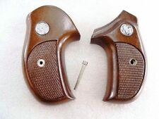Sile Walnut Combat Grips for S&W J Round Smith & Wesson Banana type sil711 $3 sh