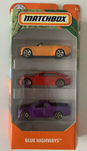 Matchbox Blue Highways VE Holden Commodore Ute 3 Pack Road Trip Brand New In Box