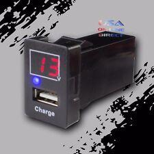 5V 2.1A Car USB Port Socket Digital Charger Interface factory fit Voltmeter USA