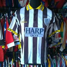 NOTTS COUNTY 1994 HOME FOOTBALL SHIRT VINTAGE MITRE JERSEY SIZE ADULT L