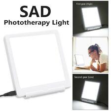 SAD Lichttherapie Therapielampe Lampe Therapie Tageslicht Gerät 3 Modi Weiß DE