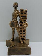 "7"" Cheer Leading Trophy resin. ( 00015)"