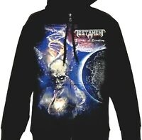 Testament - Titans Of Creation Euro Tour 2020 Official Licensed Zip Up Hoodie