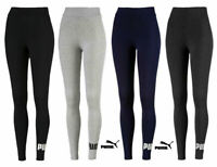PUMA ESS LOGO LEGGINGS WOMEN GYM FITNESS TIGHT RUNNING JOGGING PANTS SPORT