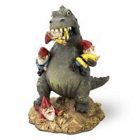 Home Garden Yard Gnome Lawn Massacre Godzilla Funny Hilarious 9 Inches Ornament