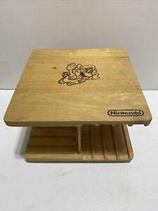 Nintendo NES Beechwood 16 Cartridge Rotating Game Holder (Cosmetic Flaws)