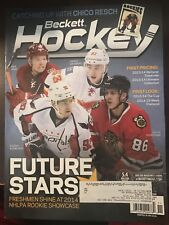 2014 November Issue of Beckett Hockey with Domi/Gaudreau/Teravainen/Kuznetsov