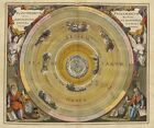"Beautiful Ancient Map of the Universe and Zodiac CANVAS ART PRINT 16""X12"" #4"