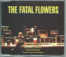 THE FATAL FLOWERS Rock And Roll Star RARE 3 INCH CD dutch rock w younger days