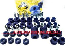 Super Pro Toyota Corolla AE92 AE93 AE94 FRONT & REAR Suspension Bushing Kit Bush