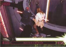 "Star Wars Jedi Legacy - Magenta Parallel Card 12A ""Death of Qui-Gon Jinn"""