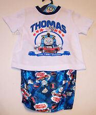 Thomas The Tank Boys White Blue Pyjama Set Size 4 New