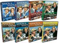 NEW Simon & Simon TV Series Complete Season 1-8 DVD SET 1 2 3 4 5 6 7 8