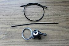 Right Thumb Shifter 5 Speed Bicycle SunRace M2T Bike Rear w/ Housing & Cable New