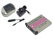 Camera Batteries for Fujifilm and Olympus µ
