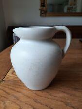 Lovatts Stoneware Vase Jug 15cm White