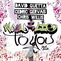 DAVID GUETTA, CHRIS WILLIS,...  - WOULD I LIE TO YOU   CD SINGLE NEU