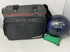Brunswick Bowling Bad With 12lb Ball And Accessories