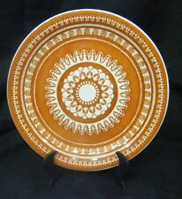 More details for  wood & sons rare retro ''bondi'' 1970's genuine english ironstone plate - 9''