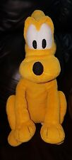 Disney Pluto 15 in Stuff Toy 15 in Yellow Dog Animal Easter Gift