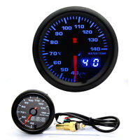 "Water Temp Gauge Digital LED Temperature Car Universal Meter 2"" 52mm 7 Color"