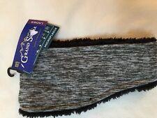204a719acb6 NWT Grand Sierra Womens Fleece lined headband. Gray Black one size