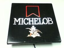 Michelob beer sign Neo neon wall light box bar lighted display vintage eagle IH9
