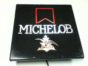 Michelob beer sign Neo neon wall light bar lighted vintage Anheuser Busch  IH9