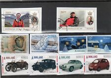 NORWAY COMMEMORATIVE KILOWARE 150++ DIFFERENT STAMPS UP TO 2018
