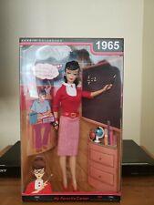 1965 My Favorite Career Student Teacher Barbie Collector Doll  2009