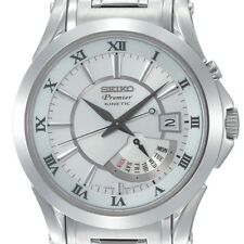 For Seiko Premier kinetic retrograde HD Clear Combo Crystal & Bezel Protector