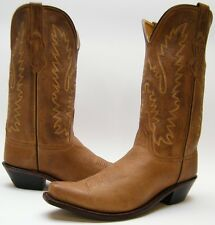WOMENS OLD WEST LF1529 BROWN SNIP TOE LEATHER COWBOY WESTERN BOOTS SZ 10 M 10M