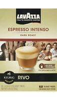 Lavazza Espresso Intenso Dark Roast Coffee 18 Count Keurig Rivo Pods