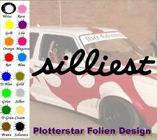 Silliest Illest JDM Sticker Adesivo OEM LIKE FUN Hater